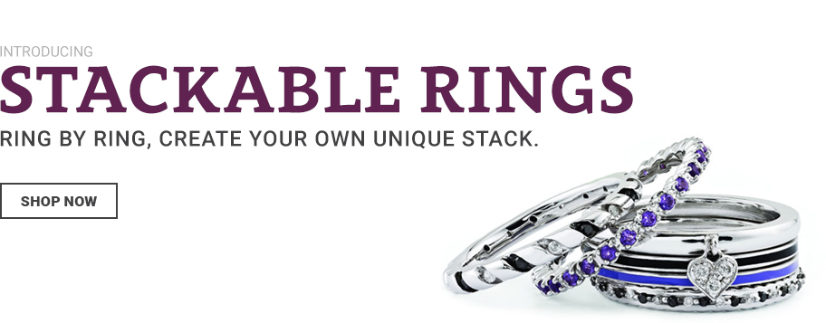 Stack Rings Stackable Birthstone Rings Diamond Stackable Rings
